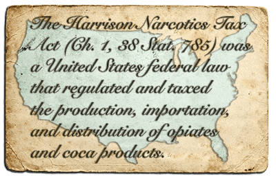 The Harrison Act 1914