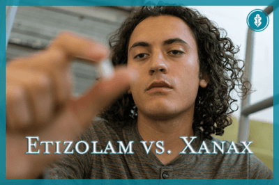 the difference between etizolam and xanax