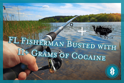 first-person view of a florida fisherman with cocaine